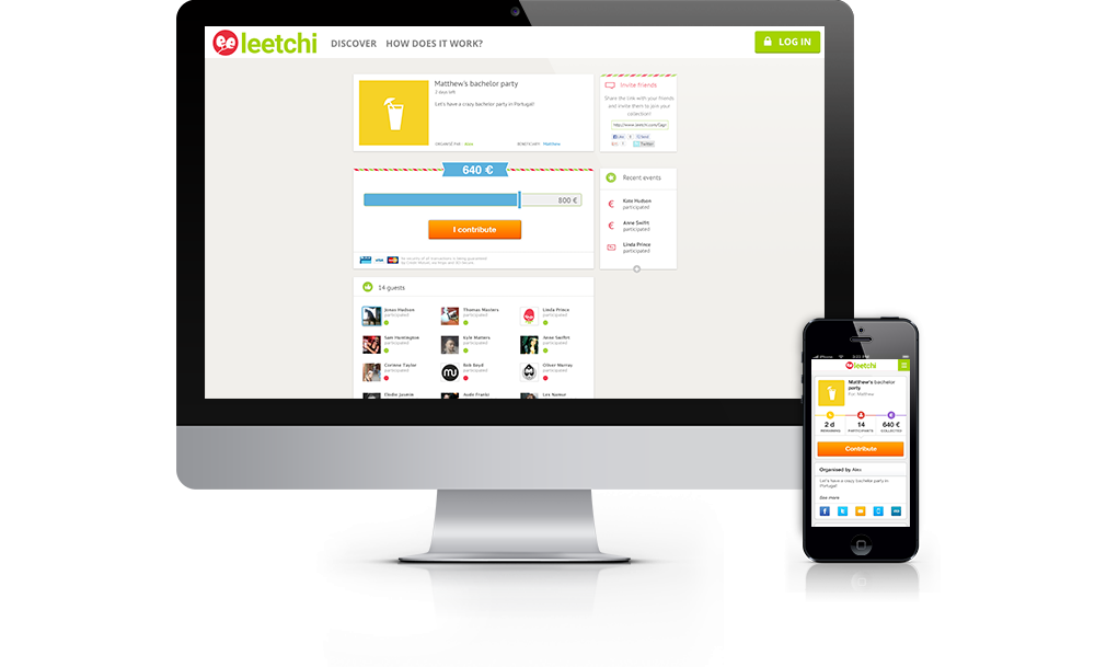 Stag Party Money Pot on Leetchi.com
